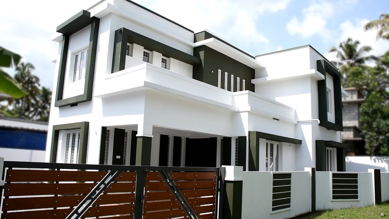 1945 sq ft 3 bedroom contemporary style two floor modern amazing home