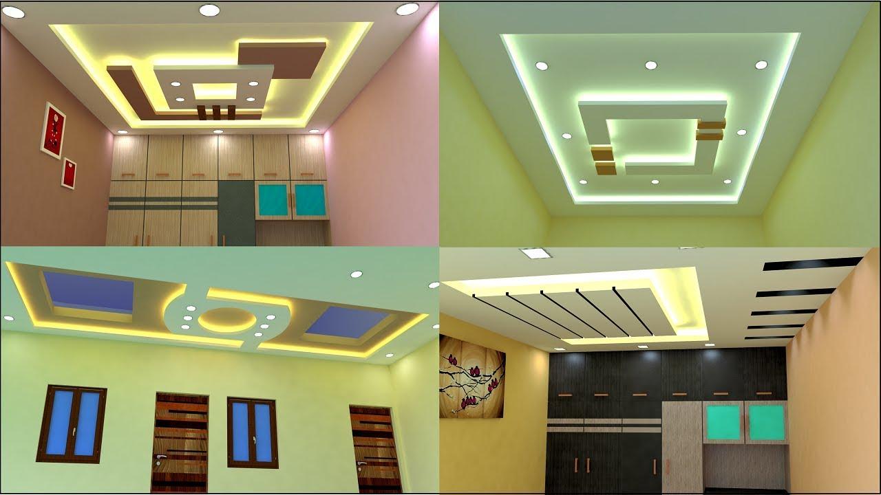 modern false ceiling design for bedroom and living