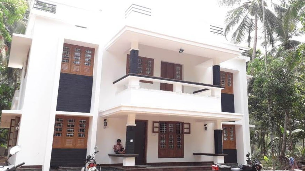 2300 sq ft 4 bedroom modern contemporary style house and plan, interior and exterior