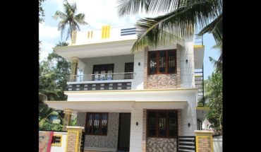 1450 Square Feet 4 bedroom modern two floor beautiful house at 3.300 cent plot