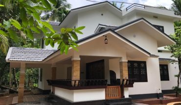 2000 sq ft 4 bedroom colonial style two floor modern house and interior