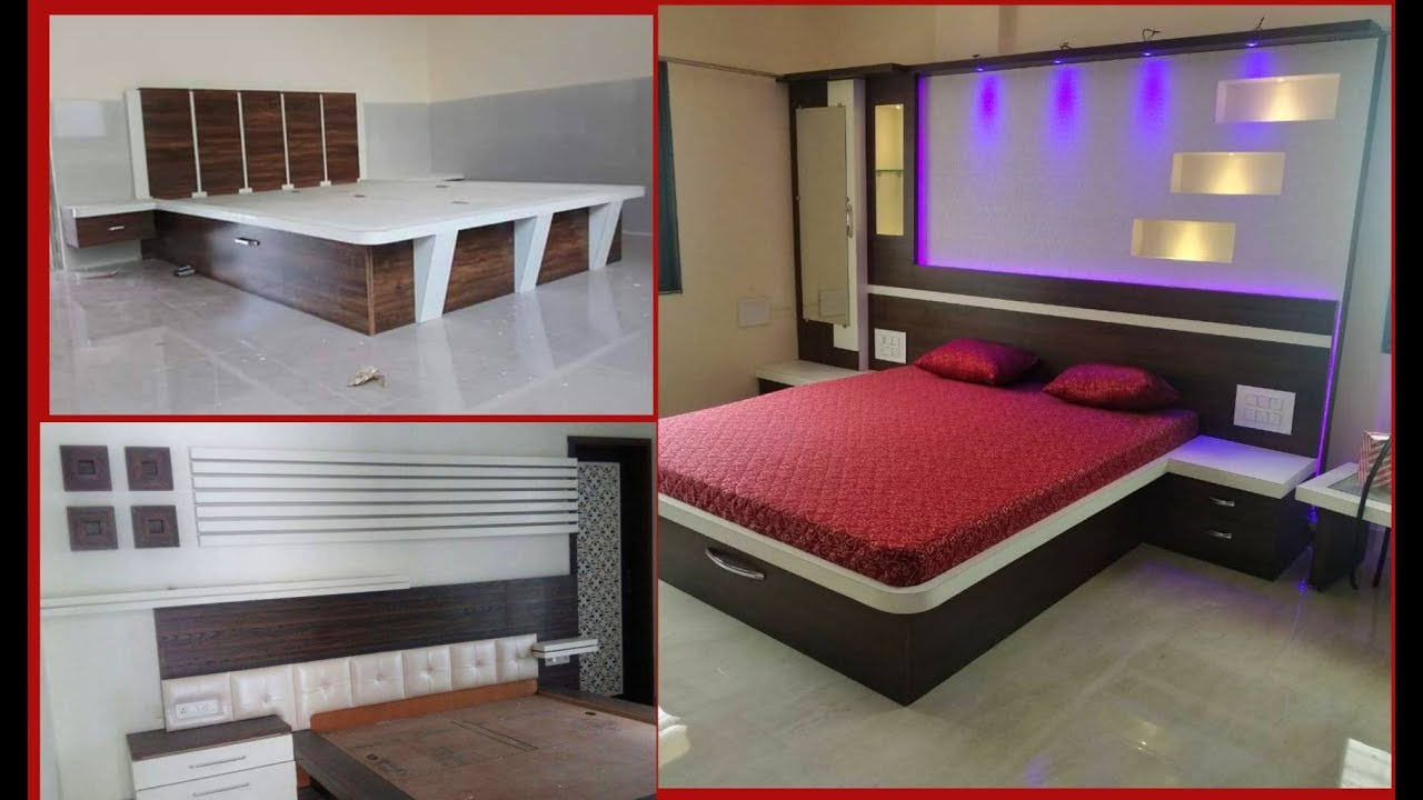 35 Modern Beautiful Low Budget Bedroom Bed Design Ideas