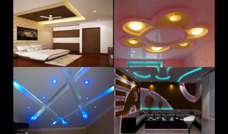 gypsum ceiling new designs for living room and bedroom