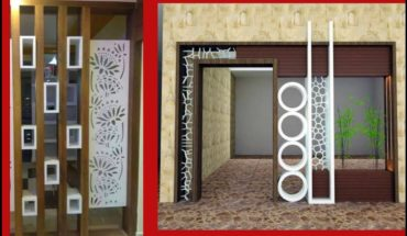 New Beautiful and Modern Partition Design For Drawing Room