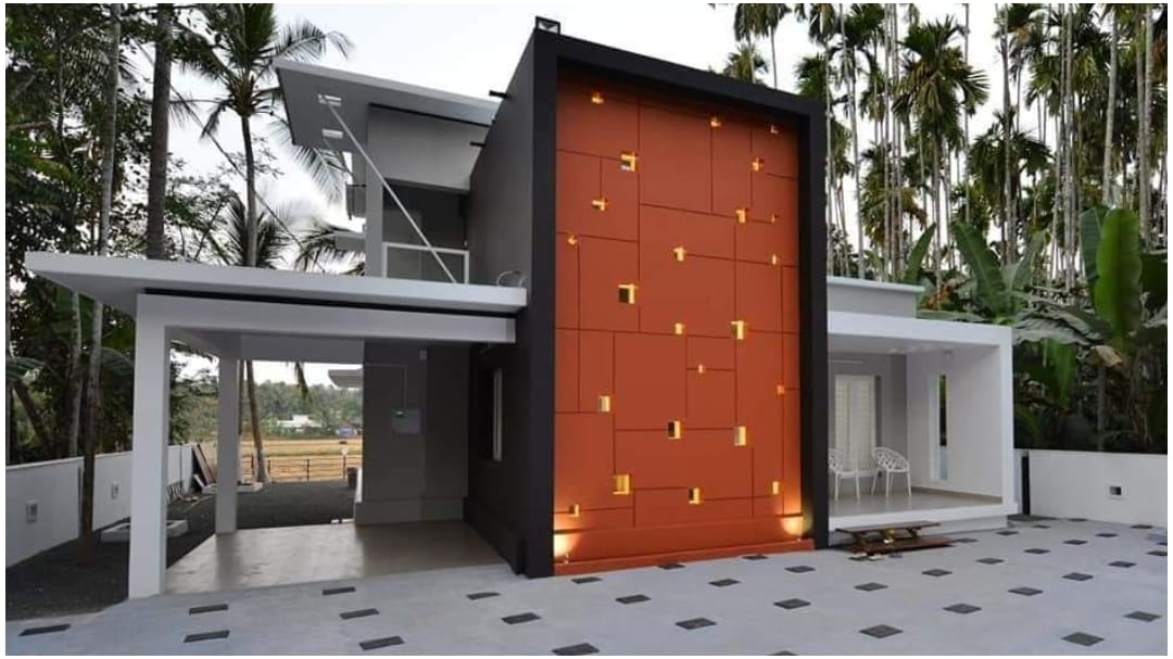 1400 Square Feet 3 BHK Contemporary Style Modern and Beautiful Home