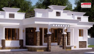 1473 Square Feet 3 Bedroom Contemporary Style Single Floor Modern House and Plan