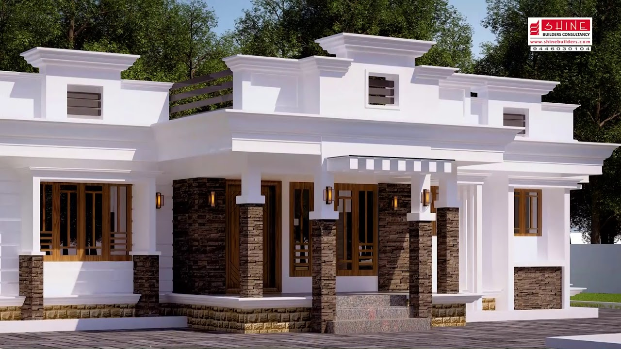 Photo of 1473 Square Feet 3 Bedroom Contemporary Style Single Floor Modern House and Plan