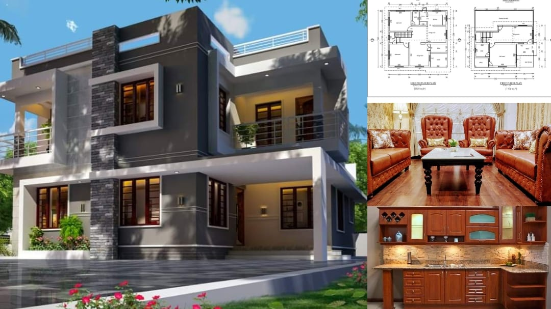 Photo of 1900 Square Feet 3 Bedroom Contemporary Style Modern Home and Plan
