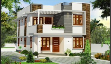 1960 Square Feet 4 Bedroom Contemporary Flat Roof Modern House and Plan