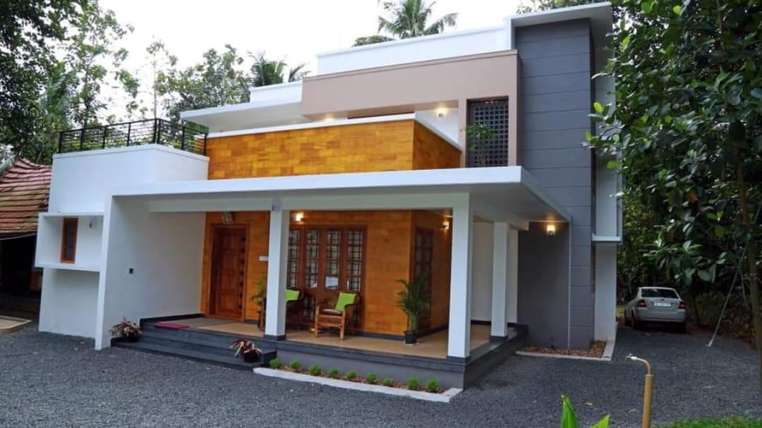 2200 Square Feet 4 Bedroom Contemporary Style Two Floor Modern home