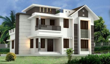 2300 Square Feet 4 Bedroom Modern Mix Roof Two Floor Beautiful House and Interior