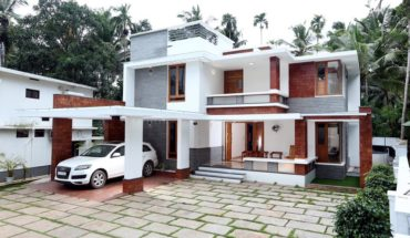 3600 Square Feet Contemporary Style Amazing House at Koduvally, Calicut