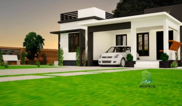 792 Square Feet 2 BHK Beautiful Single Floor House and Plan