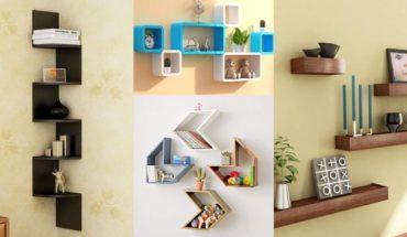 Modern and Beautiful Corner Wall Shelves Design Ideas