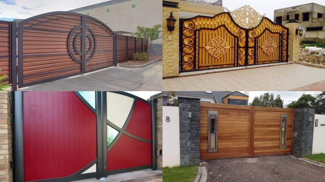 Modern and Beautiful Entrance Gate Design Ideas