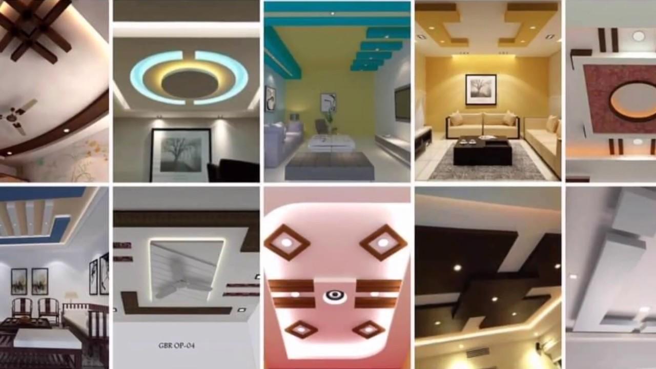 Top 18 Modern and Beautiful False Ceiling Gypsum Design Ideas