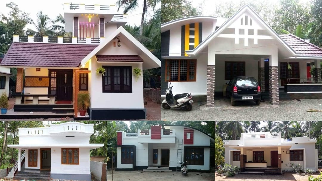 100 Single-Storey Homes That Can Be Built On A Budget of 15-20 Lacks.