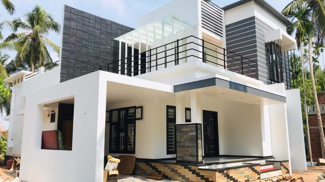 2300 Square Feet 4 Bedroom Contemporary Style House and Plan