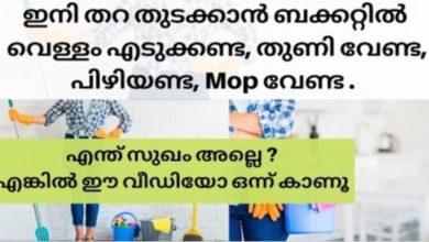 Photo of No Bucket,No Water,No Mop – Steam Mop