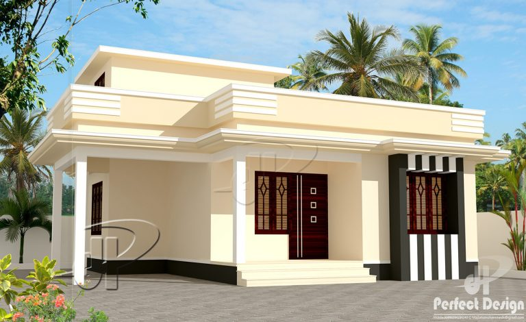 650 Square Feet Single Bedroom Modern Home Design and Plan ...