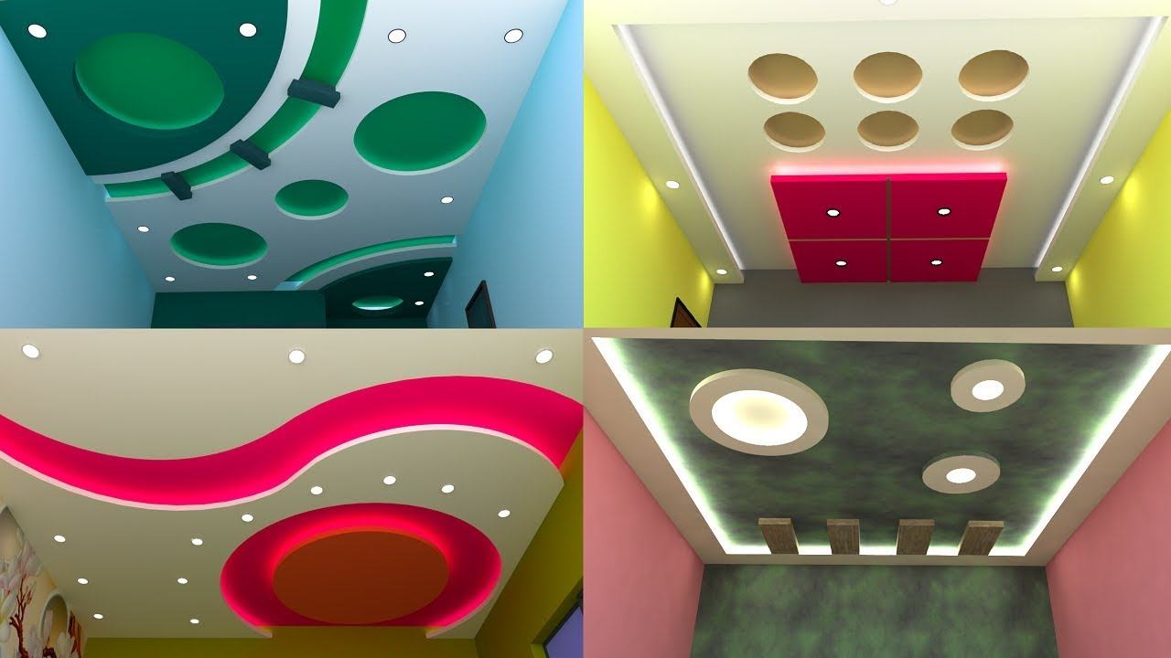 Best Gypsum Board False Ceiling Design For Hall And ...